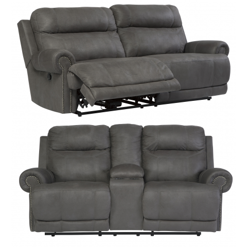 Austere - 2pc Reclining Living Room Set
