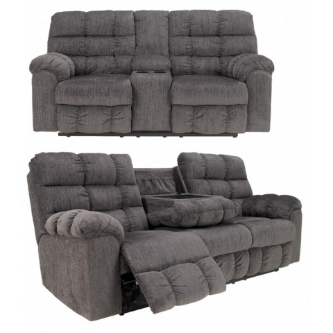 Acieona - 2pc Reclining Living Room Set