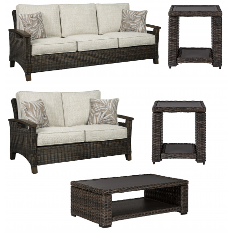 Paradise Trail - 5pc Outdoor Seating Set