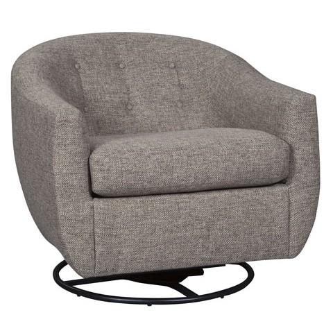 Upshur - Swivel Glider Accent Chair