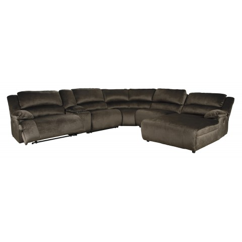 Clonmel - 6pc Power Reclining Sectional with Chaise