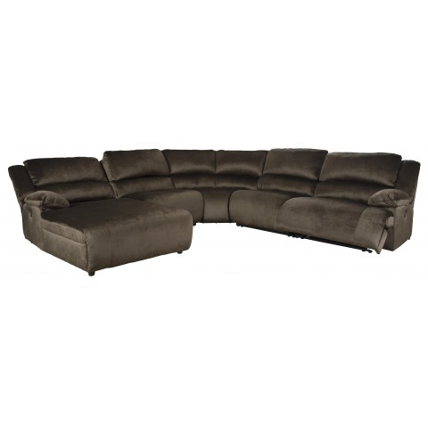 Clonmel - 5pc Reclining Sectional with Chaise