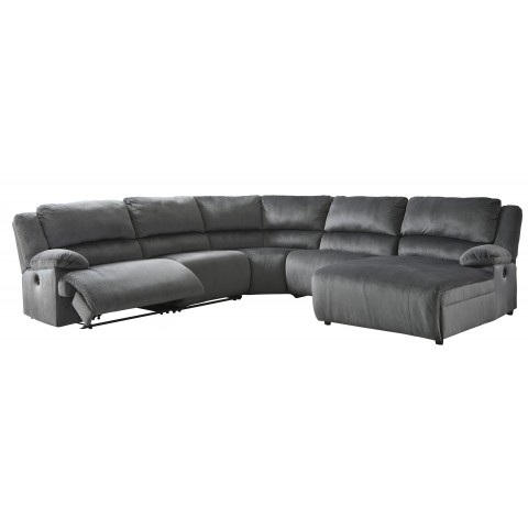 Clonmel - 5pc Power Reclining Sectional with Chaise