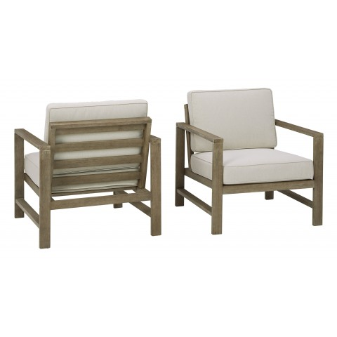 Fynnegan - Lounge Chair w/Cushion (Set of 2)