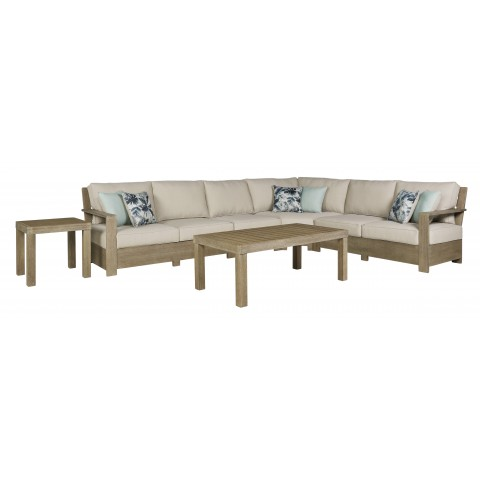 Silo Point - 6pc Outdoor Sectional