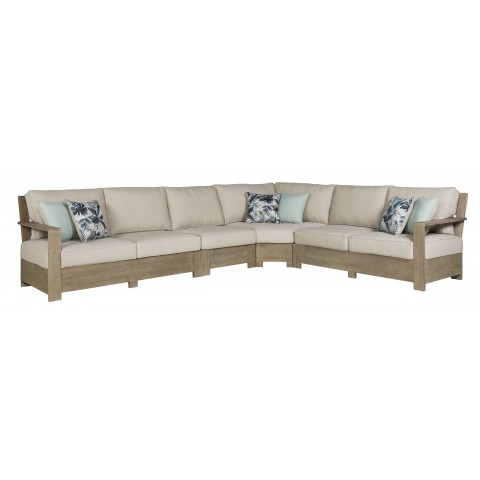 Silo Point - 4pc Outdoor Sectional