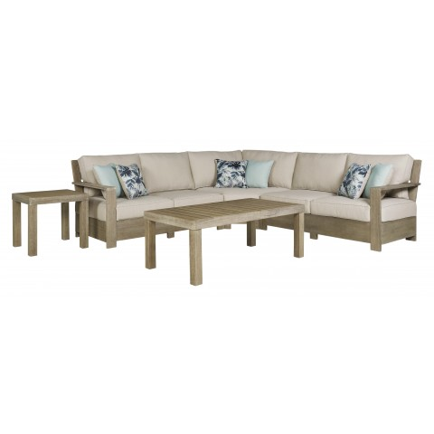 Silo Point - 5pc Outdoor Sectional