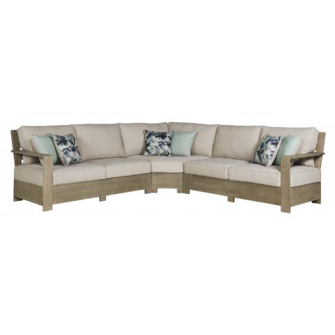 Silo Point - 3pc Outdoor Sectional